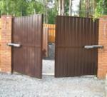 Выбираем въездные ворота