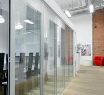 Прозрачные перегородки для офиса