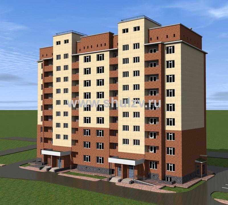Многоэтажный многоквартирный жилой дом