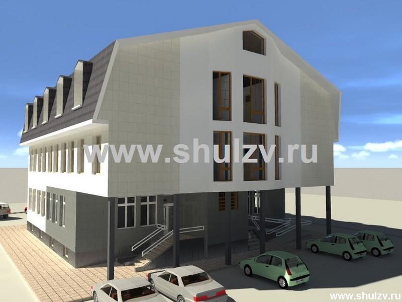Гостиница на 20 мест с офисными помещениями