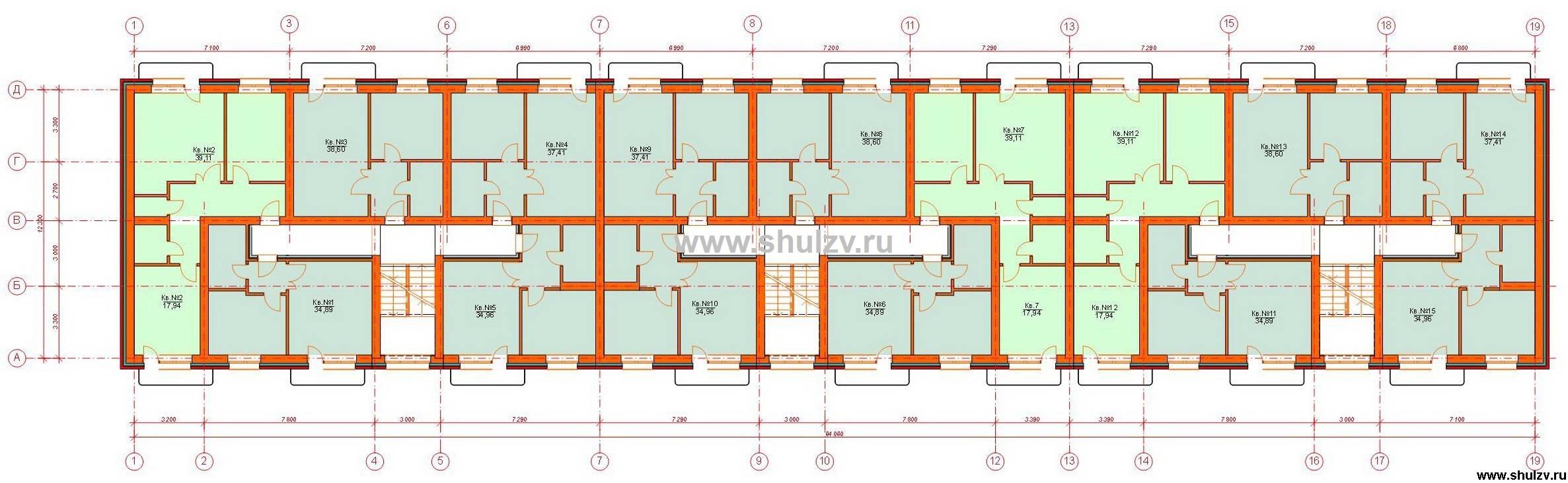проекты панельных пятиэтажных домов